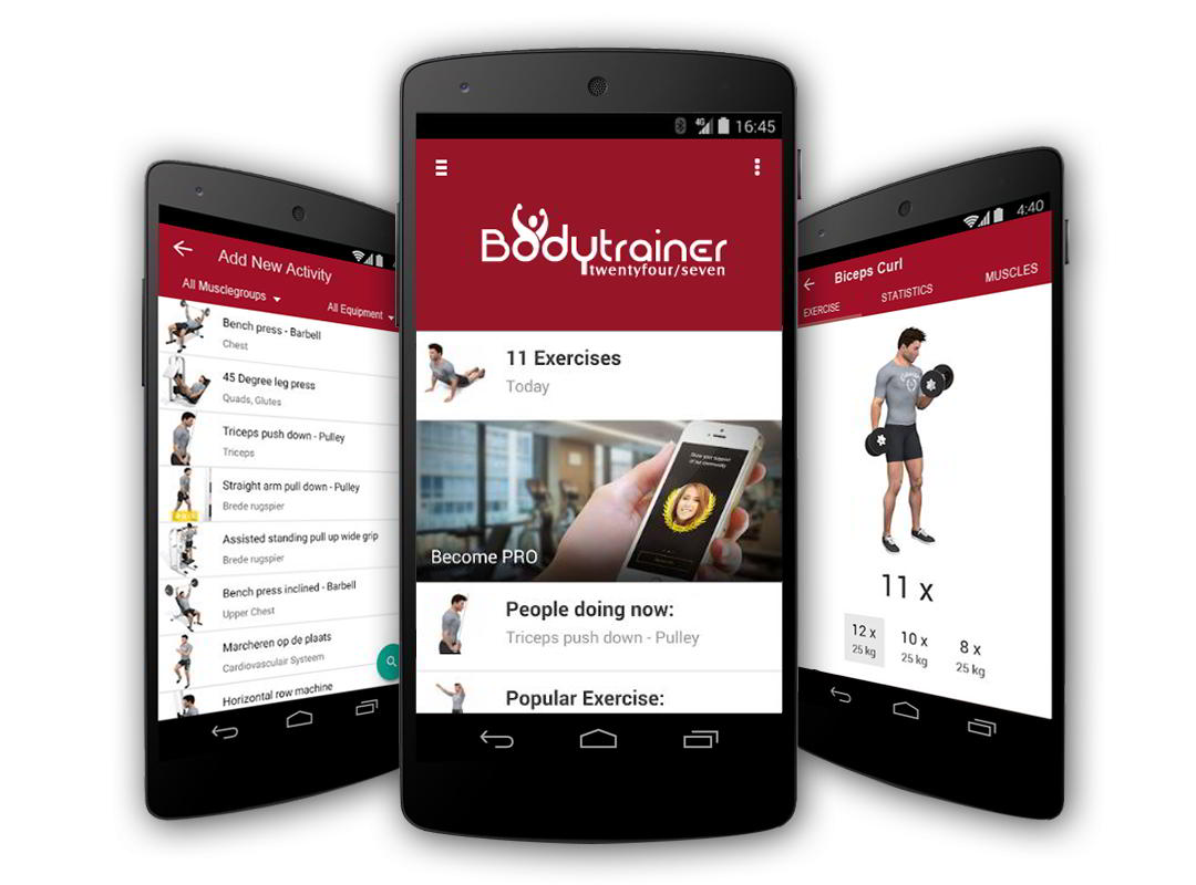 Bodytrainer 24/7 app personal trainer