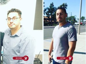Bodytrainer247, personal trainer results of weight loss and muscle toning